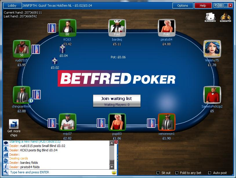 betfred-poker-table