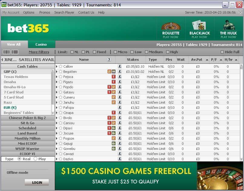 bet365-poker-lobby