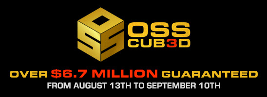 OSS Cubed – $6.7 Million Guaranteed at Americas Cardroom