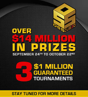 Three $1 Million Guaranteed Tourneys Highlight Americas Cardroom's $14 Million OSS Cub3d
