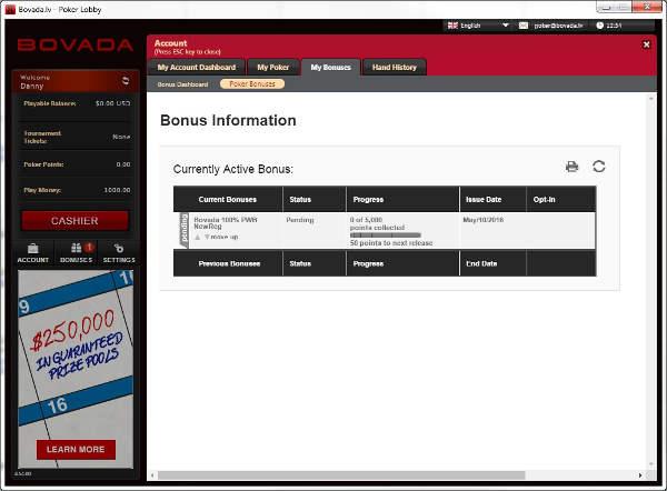 Bovada Poker Review Bonus Code 100 Up To 500 Aug 2020