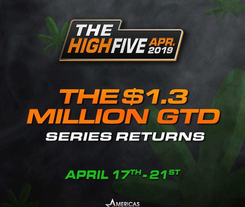 $1.3 Million High Five Kicks Off Big Stretch at Americas Cardroom