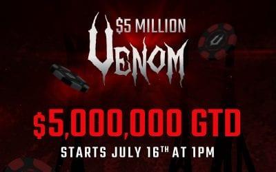 Win a seat in Americas Cardroom's Earth-shattering $5 Million Venom
