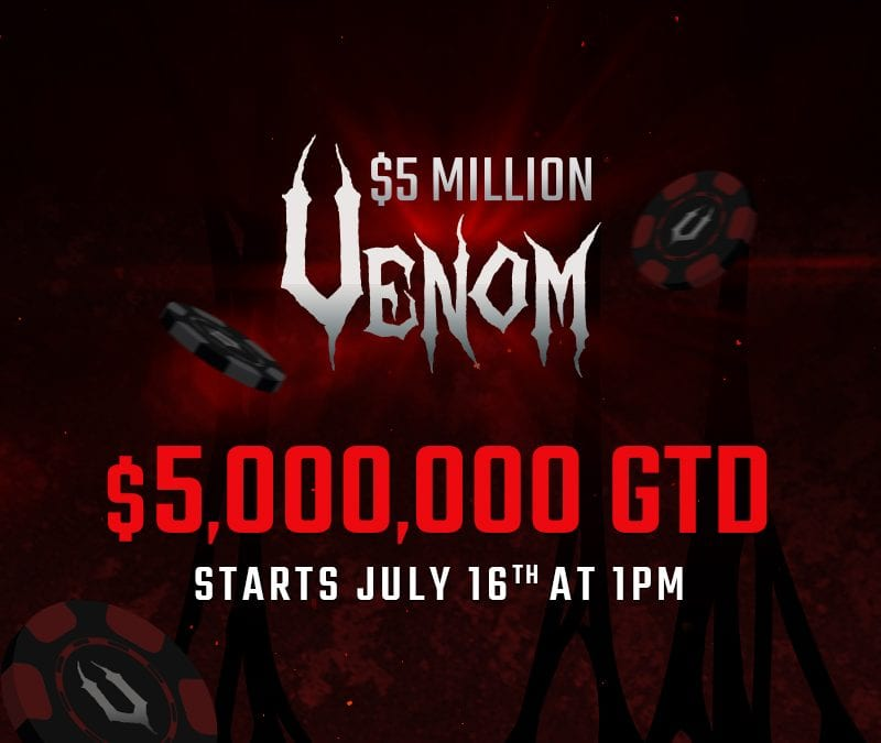 Win a seat in Americas Cardroom's Earth-shattering $5 Million Venom