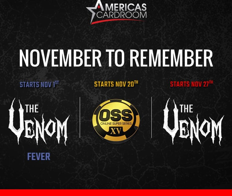 Grab onto a Cyclone and head to Americas Cardroom's $6 Million Venom in November!